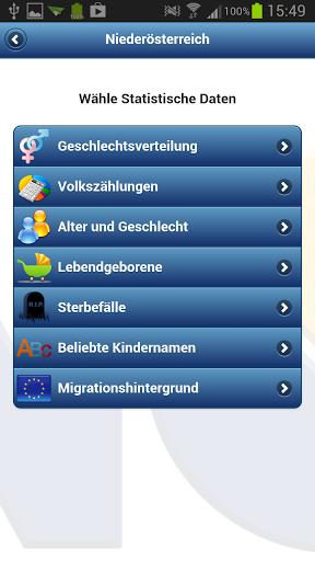 Vorschau Statistik Niederösterreich